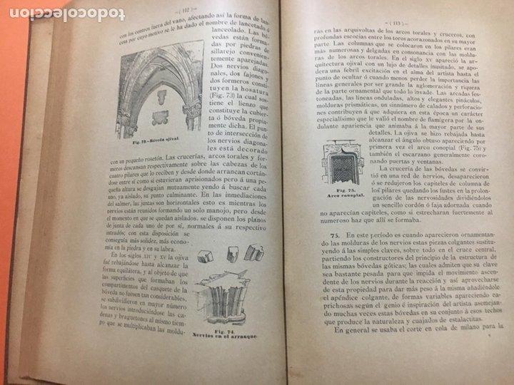 Libros antiguos: Estereotomia de la piedra - Foto 8 - 121969510