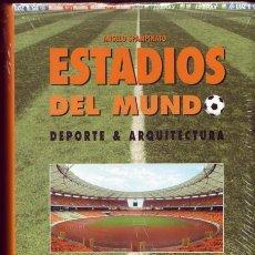 Livros antigos: ESTADIOS DEL MUNDO. ANGELO SPAMPINATO, ED. H. KLICZKOWSKI. 1996?. Lote 204792525