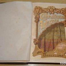 Libros antiguos: CARPINTERIA ARTISTICA - ANDRES AUDET Y PUIG - M. SEGUI EDITOR A.1900. Lote 111396551