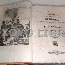 Libros antiguos: DELAGARDETTE, C. M. REGLAS DE LOS CINCO ÓRDENES DE ARQUITECTURA DE VIGNOLA. CON UN ORDEN DÓRICO. Lote 112436131