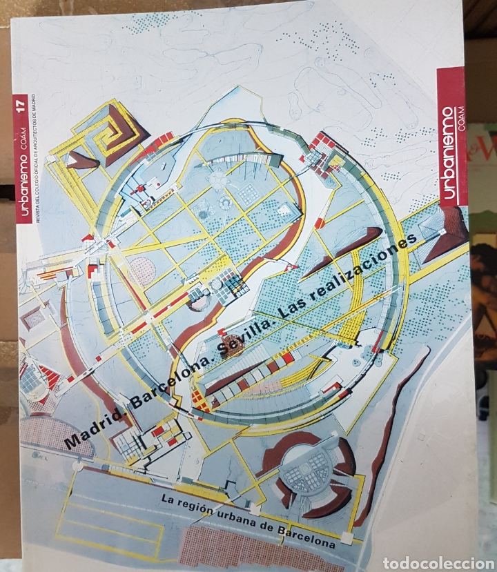 REVISTA URBANISMO 17 MADRID BARCELONA SEVILLA (Libros Antiguos, Raros y Curiosos - Bellas artes, ocio y coleccion - Arquitectura)