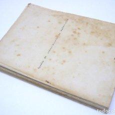 Libros antiguos: 1935 - APUNTES DE CONOCIMIENTO DE MATERIALES - ESCUELA SUPERIOR DE ARQUITECTURA. Lote 206771007