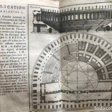 Libros antiguos: ABREGÉ DES DIX LIVRES DE ARCHITECTURE DE VITRUVE, 1674. VITRUBIO/C.PERRAULT. GRABADOS. Lote 207292897