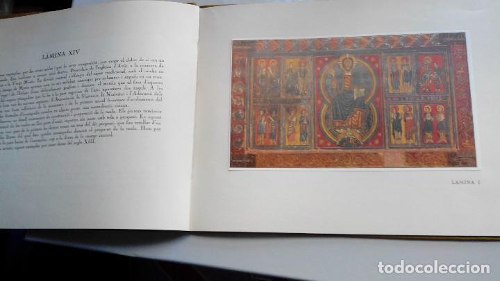 Libros antiguos: FRONTALS ROMANICS CATALANS DEL MUSEU D`ART DE CATALUNYA, 14 LAMINAS 1934 - Foto 5 - 208061345