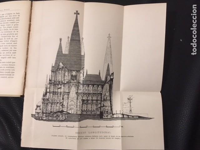 Libros antiguos: EL TEMPLE DE LA SAGRADA FAMILIA. J.PUIG BOADA. 1929. DEDICATORIA DEL AUTOR. GAUDI. - Foto 4 - 208286537