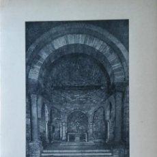 Libros antiguos: SANTA MARIA DE PORQUERES. IGLESIA ROMÁNICA. 1973. LÁMINAS.. Lote 208424686
