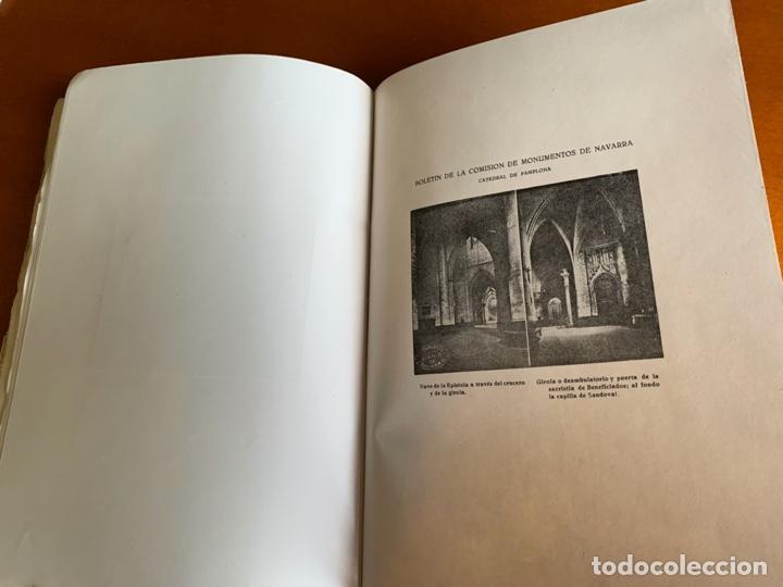Libros antiguos: BOLETÍN DE LA COMISIÓN DE MONUMENTOS DE NAVARRA - 1928 E. ARAMBURU. PAMPLONA VOL 2 - Foto 7 - 208761208