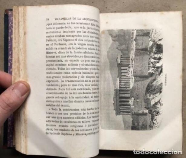 Libros antiguos: LAS MARAVILLAS DE LA ARQUITECTURA. ANDRÉ LEFÈVRE. LIBRERIA DE L. HACHETTE 1867. - Foto 5 - 209172858