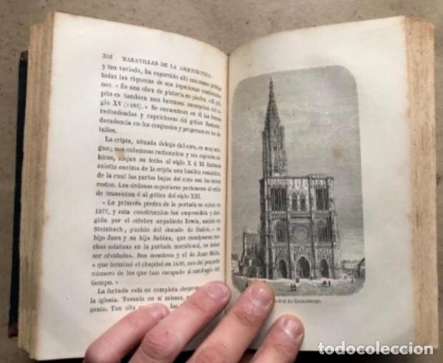 Libros antiguos: LAS MARAVILLAS DE LA ARQUITECTURA. ANDRÉ LEFÈVRE. LIBRERIA DE L. HACHETTE 1867. - Foto 7 - 209172858