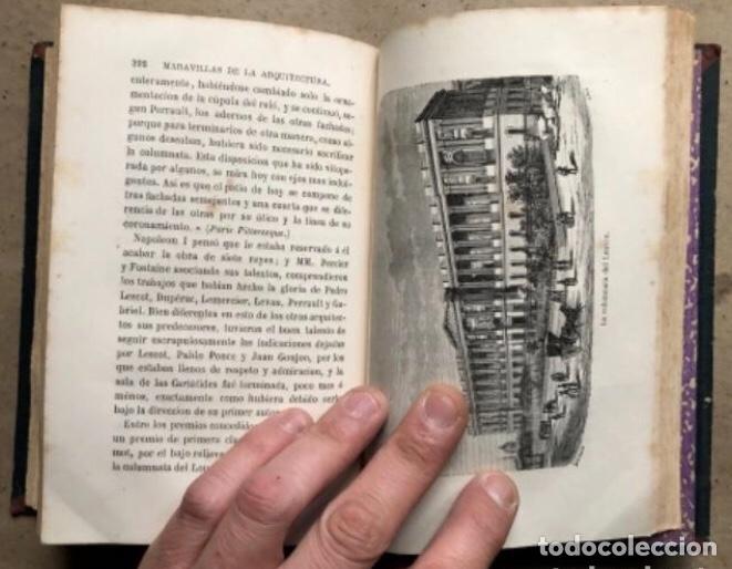 Libros antiguos: LAS MARAVILLAS DE LA ARQUITECTURA. ANDRÉ LEFÈVRE. LIBRERIA DE L. HACHETTE 1867. - Foto 9 - 209172858