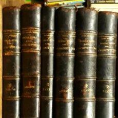 Libros antiguos: DEGLI STILI NELL'ARCHITETTURA C 1920 LUIGI ARCHINTI 6 TOMOS VALLARDI. HISTORIA ARQUITECTURA ESTILO. Lote 210350896