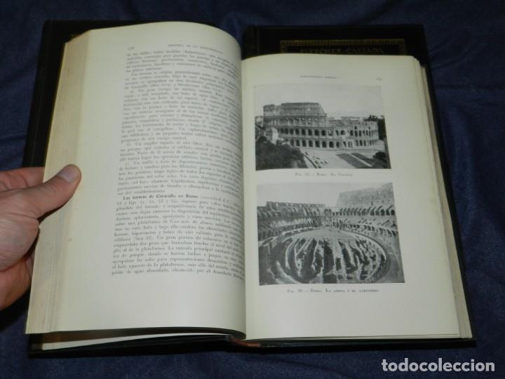 Libros antiguos: (MF) FLETCHER - CALZADA - HISTORIA DE LA ARQUITECTURA POR UN METODO COMPRADO, 3 VOLS, 1928 - Foto 3 - 210830774
