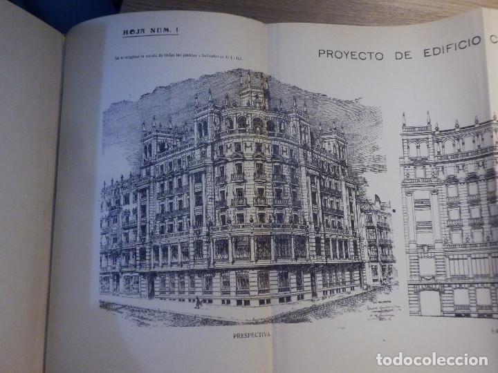 Libros antiguos: Estudios y Tanteos - Proyectos EDIFICIOS. PARTICULARES, PUBLICOS - Tomo IV - Eduardo Gallego Ramos - Foto 4 - 210968387