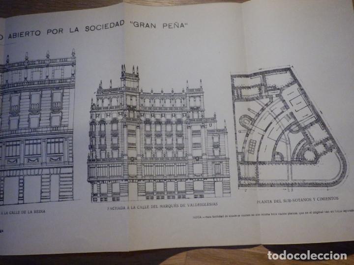 Libros antiguos: Estudios y Tanteos - Proyectos EDIFICIOS. PARTICULARES, PUBLICOS - Tomo IV - Eduardo Gallego Ramos - Foto 5 - 210968387