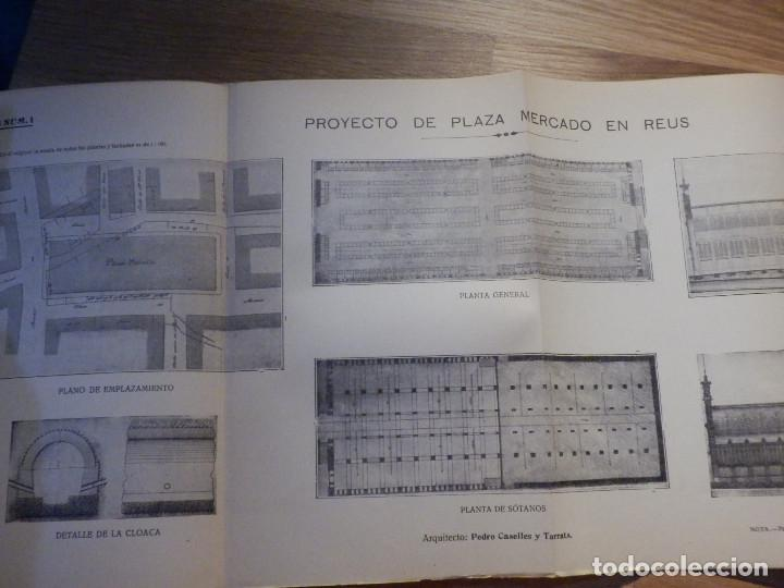 Libros antiguos: Estudios y Tanteos - Proyectos EDIFICIOS. PARTICULARES, PUBLICOS - Tomo IV - Eduardo Gallego Ramos - Foto 6 - 210968387