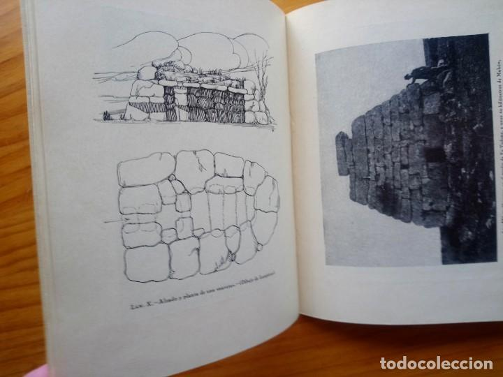 Libros antiguos: Arquitectura prehistórica cartillas de arquitectura española megalitico dolmen 1929 - Foto 2 - 211653590