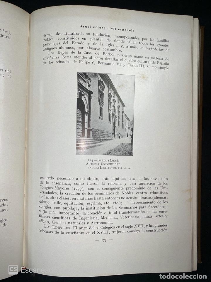 Libros antiguos: ARQUITECTURA CIVIL ESPAÑOLA.DE LOS SIGLOS I AL XVIII.TOMO II.VICENTE LAMPEREZ. MADRID, 1922. CALLEJA - Foto 6 - 212764208