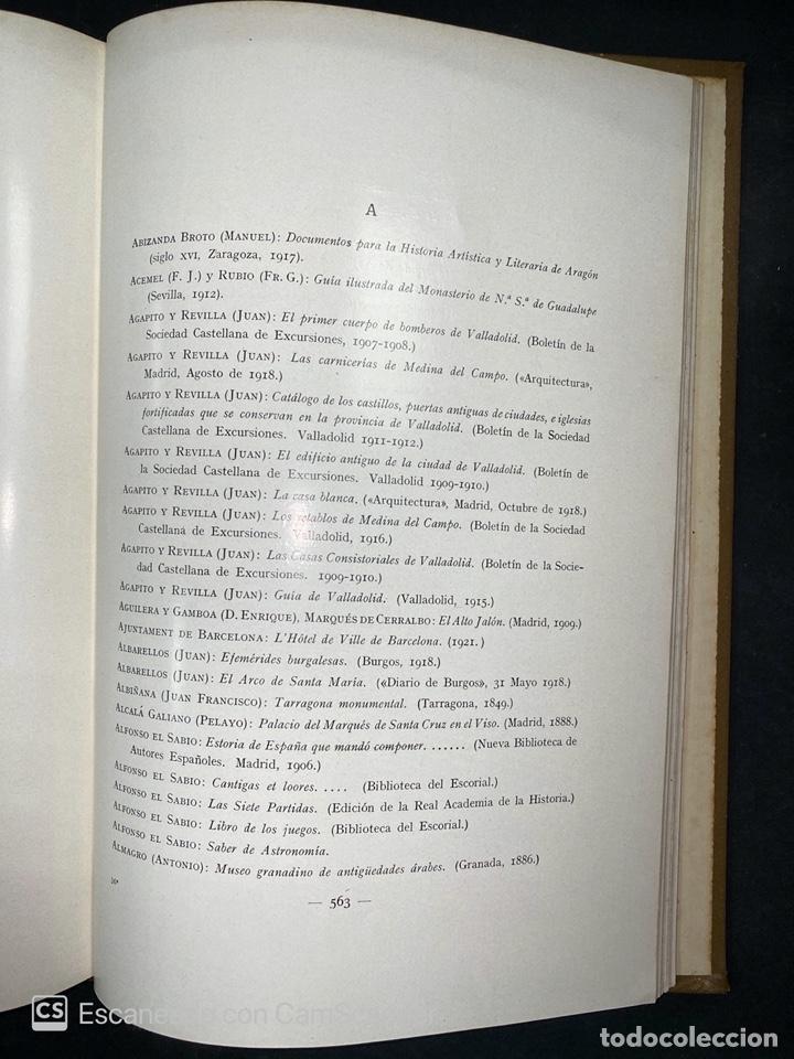 Libros antiguos: ARQUITECTURA CIVIL ESPAÑOLA.DE LOS SIGLOS I AL XVIII.TOMO II.VICENTE LAMPEREZ. MADRID, 1922. CALLEJA - Foto 10 - 212764208