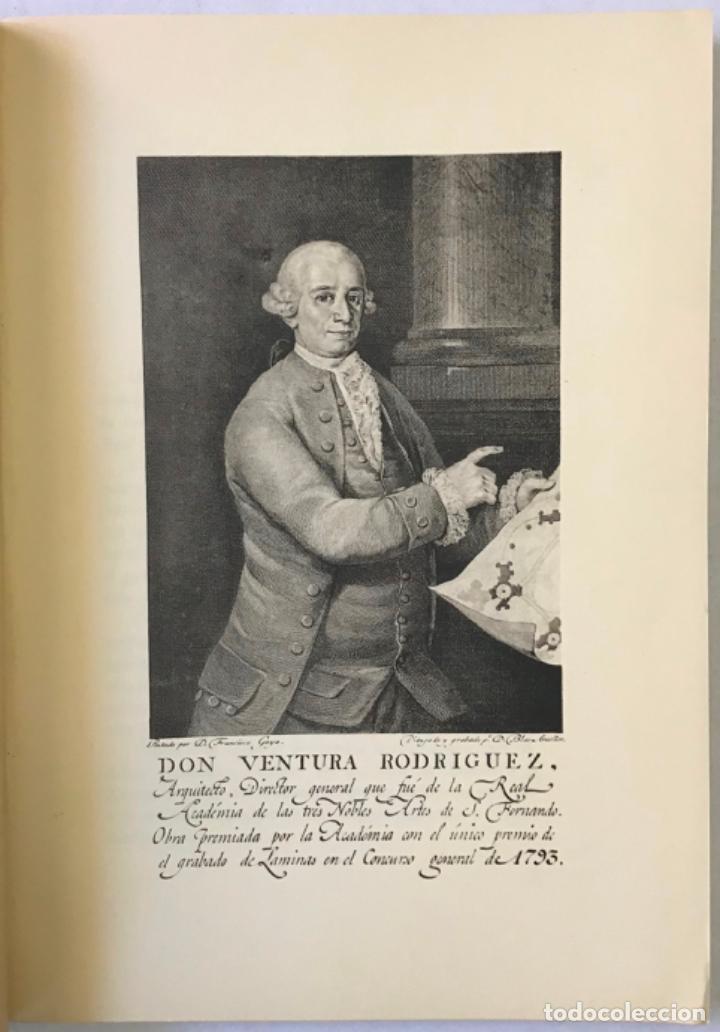 Libros antiguos: VENTURA RODRÍGUEZ Y SU OBRA EN NAVARRA. Discurso leído por... y contestación de Modesto López Otero. - Foto 3 - 123261602