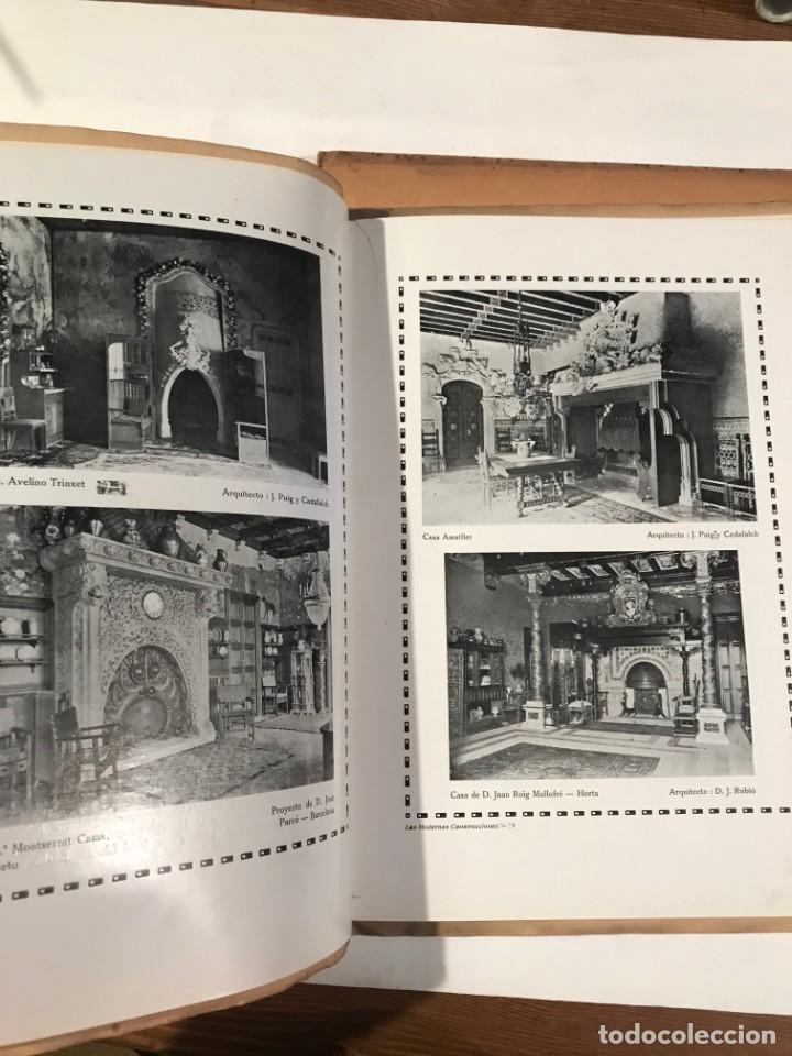 Libros antiguos: REVISTA DE ARQUITECTURA AÑO 1 NUM 6, 1918 CALEFACCION . CHIMENEAS, HOGARES, BRASEROS - Foto 2 - 214172501