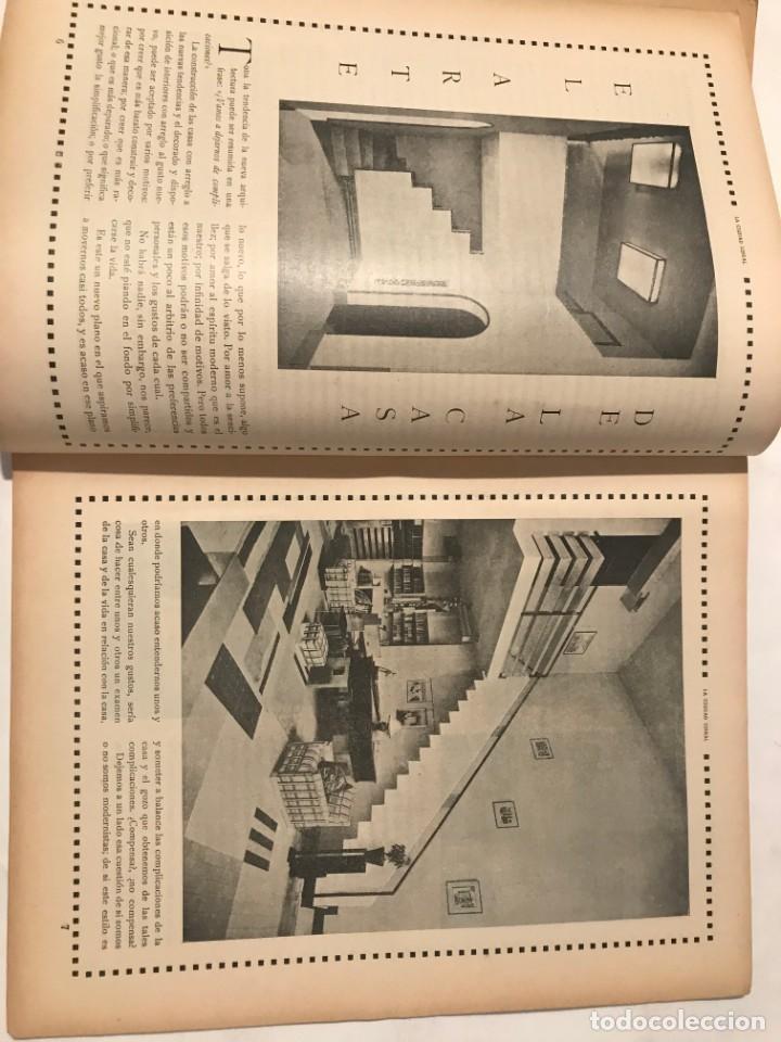 Libros antiguos: LA CIUDAD LINEAL 10 DE ENERO 1930 . NUM 820 REVISTA DE URBANIZACION RAFAEL MARQUINA,RIVAS MOREN0 - Foto 3 - 214190076
