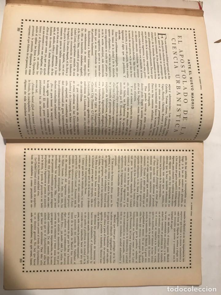 Libros antiguos: LA CIUDAD LINEAL 10 DE DICIEMBRE 1930 . NUM 831 REVISTA DE URBANIZACION RAFAEL MARQUINA,RIVAS MOREN0 - Foto 3 - 214191383