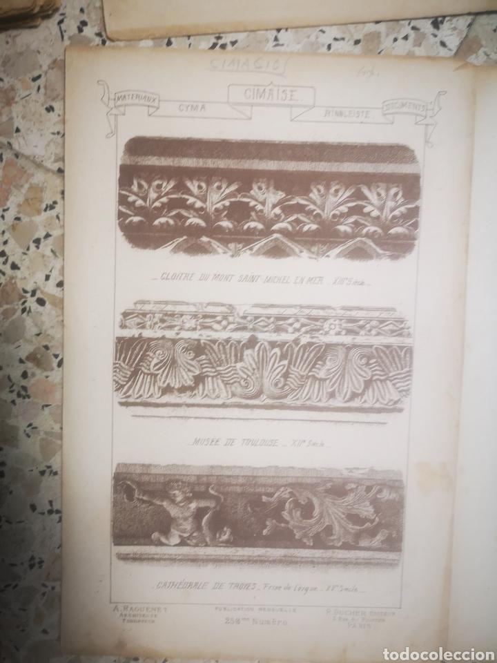 Libros antiguos: MATERIAUX ET DOCUMENTS D´ARCHITECTURE ET DE SCULTURE, MUY ILUSTRADO, MULTITUD DE TOMOS, s.XIX - Foto 7 - 215818641