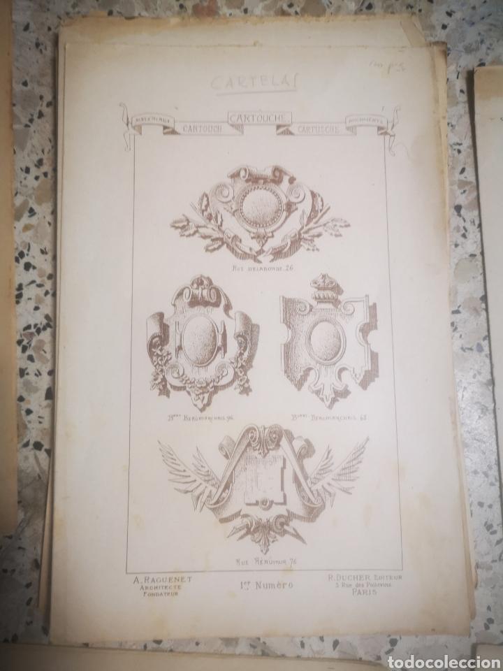 Libros antiguos: MATERIAUX ET DOCUMENTS D´ARCHITECTURE ET DE SCULTURE, MUY ILUSTRADO, MULTITUD DE TOMOS, s.XIX - Foto 8 - 215818641