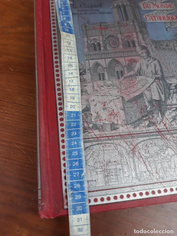 Libros antiguos: LES GRANDES CATHEDRALES DU MONDE CATHOLIQUE CLOQUET L. - Foto 7 - 215994246