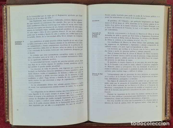 Libros antiguos: LOS MAESTROS DE OBRAS DE BARCELONA. JAN BASSEGODA. ACADEMIA DE SAN JORGE. 1972. - Foto 2 - 217307438