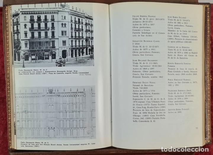 Libros antiguos: LOS MAESTROS DE OBRAS DE BARCELONA. JAN BASSEGODA. ACADEMIA DE SAN JORGE. 1972. - Foto 3 - 217307438