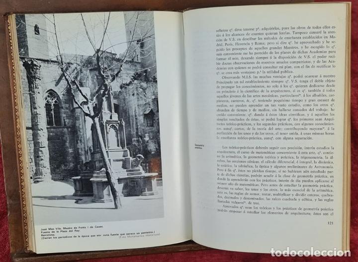 Libros antiguos: LOS MAESTROS DE OBRAS DE BARCELONA. JAN BASSEGODA. ACADEMIA DE SAN JORGE. 1972. - Foto 5 - 217307438