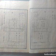 Libros antiguos: LIBRO DE ARQUITECTURA OCCIDENTAL JAPONÉS PERIODO MEIJI 1868-1912. Lote 218165868