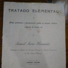 Libros antiguos: TRATADO ELEMENTAL. Lote 218314091