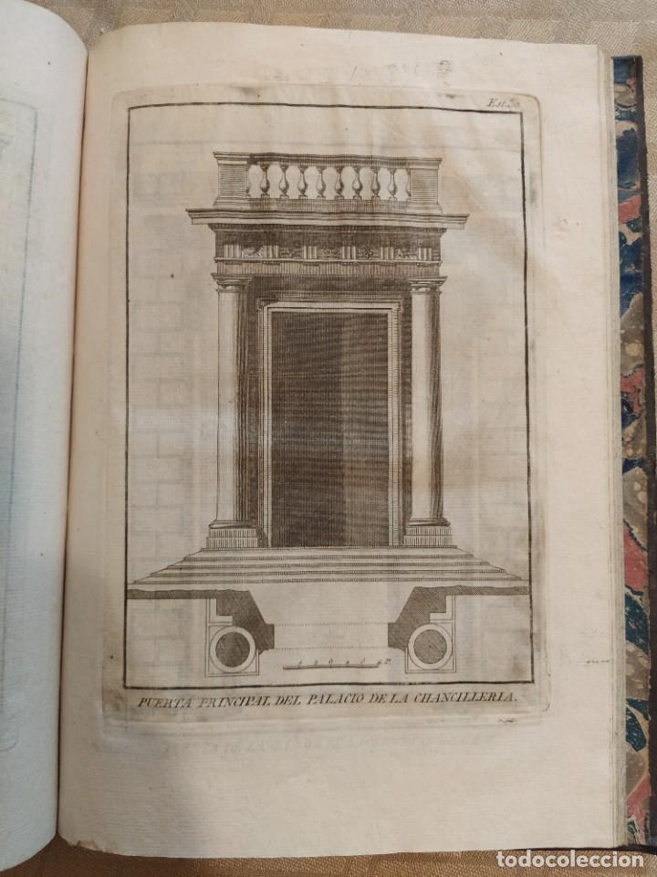 Libros antiguos: Reglas de los Cinco Ordenes de Arquitectura de Vignola - Foto 4 - 218991041