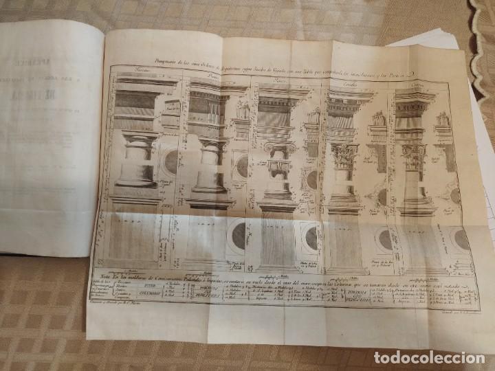 Libros antiguos: Reglas de los Cinco Ordenes de Arquitectura de Vignola - Foto 5 - 218991041
