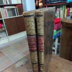 Libros antiguos: TRAITÉ DE GÉOMÉTRIE DESCRIPTIVE I TRAITÉ DE STÉRÉOTOMIE. Lote 218992323