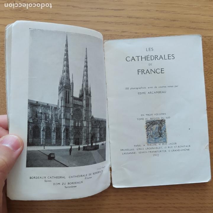Libros antiguos: Arte. Francia. Cathedrales de France, III. Region Du Sud, Edme Arcambeau, A. Perche, 1912 - Foto 3 - 219290093