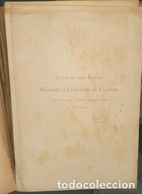 Libros antiguos: LIBRO-LÁMINAS ARQUITECTÓNICAS TOURS ET TOURELLES HISTORIQUES DE LA BELGIQUE, Mr JEAN BAES, 1880-1889 - Foto 2 - 220948371