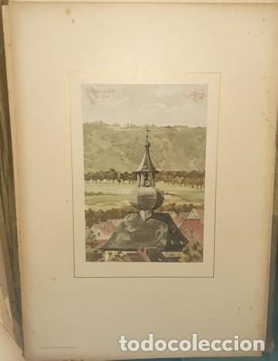 Libros antiguos: LIBRO-LÁMINAS ARQUITECTÓNICAS TOURS ET TOURELLES HISTORIQUES DE LA BELGIQUE, Mr JEAN BAES, 1880-1889 - Foto 4 - 220948371