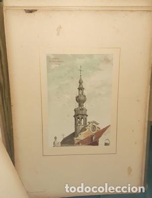 Libros antiguos: LIBRO-LÁMINAS ARQUITECTÓNICAS TOURS ET TOURELLES HISTORIQUES DE LA BELGIQUE, Mr JEAN BAES, 1880-1889 - Foto 5 - 220948371