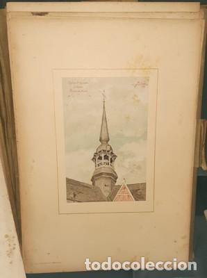 Libros antiguos: LIBRO-LÁMINAS ARQUITECTÓNICAS TOURS ET TOURELLES HISTORIQUES DE LA BELGIQUE, Mr JEAN BAES, 1880-1889 - Foto 6 - 220948371