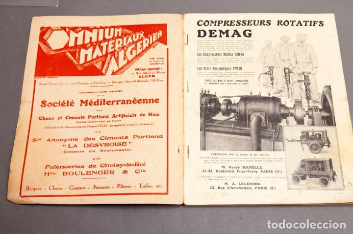 Libros antiguos: CHANTIERS Nord Africaines - 1932 - ARCHITECTURE, DECORATION, URBANISME, TRAVAUX PUBLICS - Foto 3 - 221436863