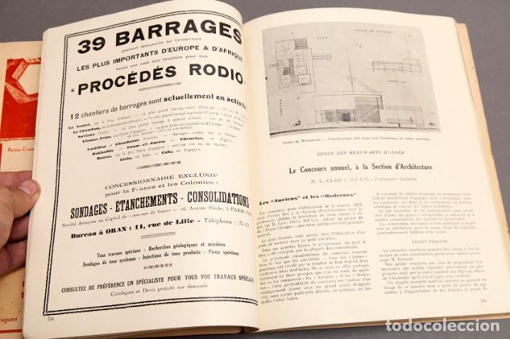 Libros antiguos: CHANTIERS Nord Africaines - 1932 - ARCHITECTURE, DECORATION, URBANISME, TRAVAUX PUBLICS - Foto 11 - 221436863