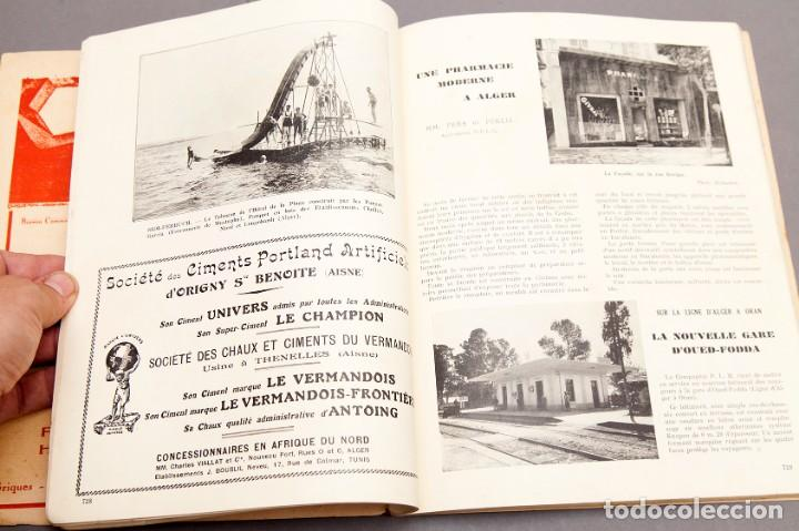 Libros antiguos: CHANTIERS Nord Africaines - 1932 - ARCHITECTURE, DECORATION, URBANISME, TRAVAUX PUBLICS - Foto 12 - 221436863