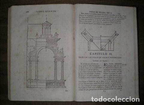 Libros antiguos: ARPHE Y VILLAFAÑE, Juan de: VARIA COMMENSURACION PARA LA ESCULTURA Y ARQUITECTURA. 1795 - Foto 5 - 41460252