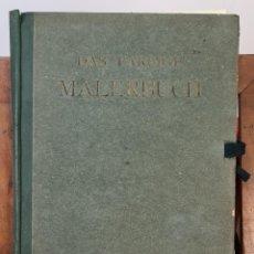 Libros antiguos: DAS FARBIGE MALERBUCH. EL LIBRO DE COLORES. 65 LÁMINAS DE ARQUITECTURA. SIGLO XX.. Lote 221742788