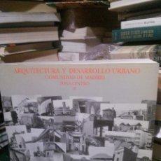 Libros antiguos: ARQUITECTURA Y DESARROLLO URBANO, COMUNIDAD DE MADRID, ZONA CENTRO TOMO I-II. Lote 221894206