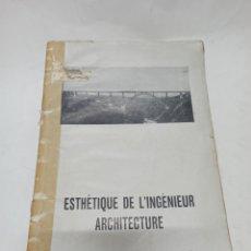 Libros antiguos: LE CORBUSIER: VERS UNE ARCHITECTURE, 1ª EDICIÓN 1923, EDITIONSCRES ET CIE. VER DESCRIPCION. Lote 222360156