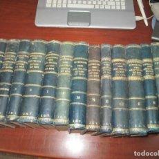 Libros antiguos: 15 TOMOS DISPOSICIONES SOBRE OBRAS PUBLICAS DESDE 1881 AL1898 ARNAU--URBINA MADRID. Lote 222846815
